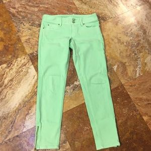 Lily Pulitzer ankle zip jeans